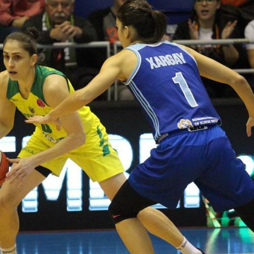 Női kosárlabda Euroliga: Sopronban nyert hét ponttal a Kurszk