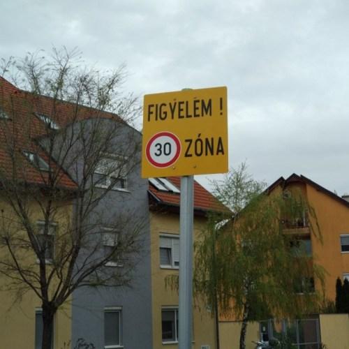 Sopron, a 30-as zónák városa