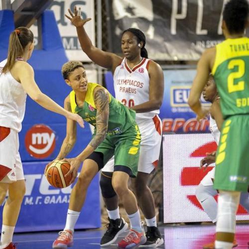 Sopron Basket: Nem sikerült győzni az Olympiacos ideiglenes otthonában