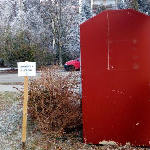 Itt a lista arról, hogy Sopronban hol vannak a (karácsonyi) fenyőfa gyűjtőhelyek!
