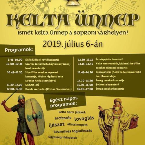 XIV. Kelta Ünnep a soproni Várhelyen