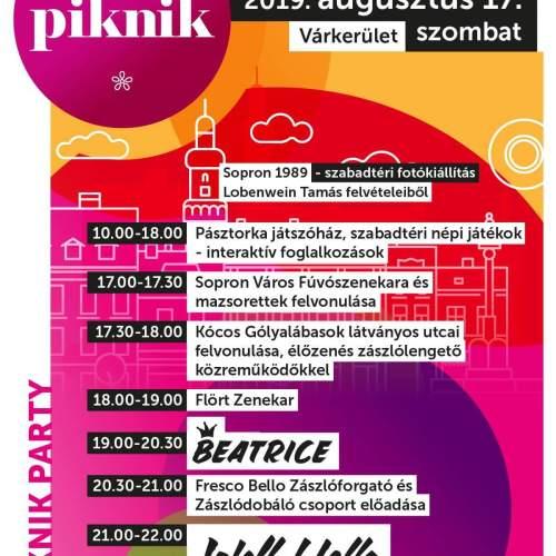 Mutatjuk a PIKNIK30 programsorozat színpadi műsorbontását!