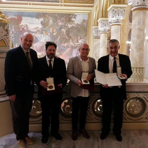 Díjakat kaptak a soproni színház stratégiai partnerei