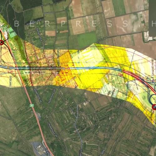 Előkészítő munkák az M85-ös soproni alagútjánál!