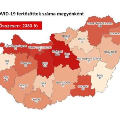Koronavírus: Itt vannak a legfrissebb magyar és osztrák adatok