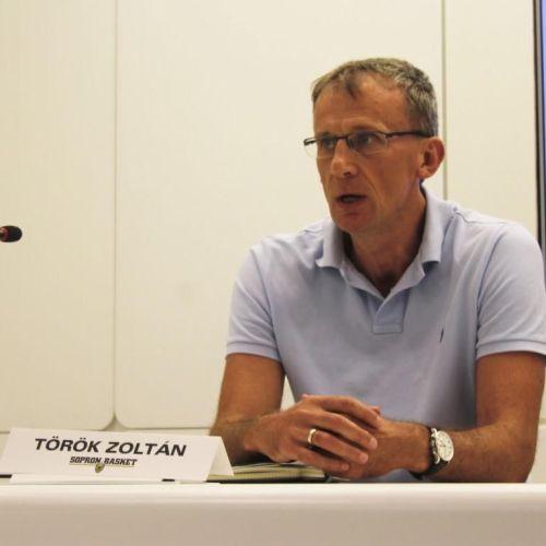 Török Zoltán: A Sopron Basket nem tudja ott folytatni ahol tartott