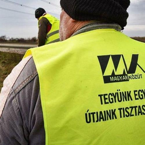 6000 köbméter illegális útmenti hulladékkal kell elbánnia a Magyar Közútnak