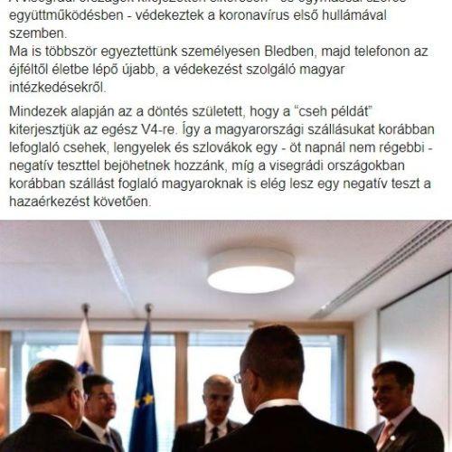 Teljes határzár: Jöhetnek a cseh, a szlovák és a lengyel turisták!