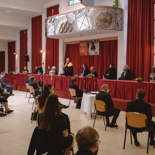 Együttműködési megállapodást is kötöttek a Soproni Egyetem ünnepi évnyitóján