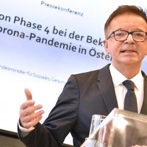 Újabb, szigorúbb korlátozásokat helyezett kilátásba az osztrák egészségügyi miniszter
