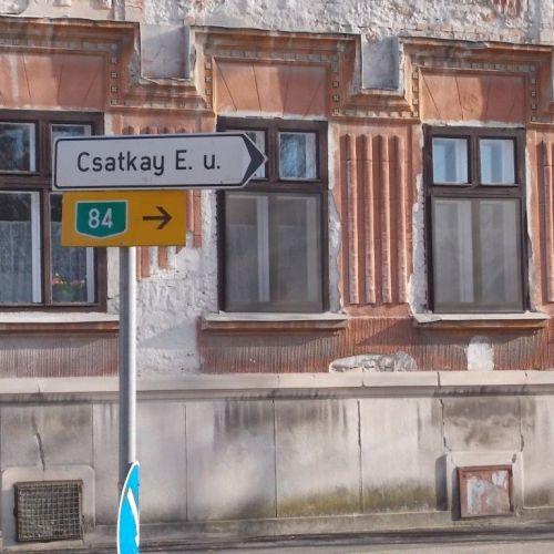Soproni tábla szekció: Csatkay vagy Csatkai?