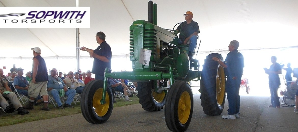 Sopwith to Host, Produce New Vintage Tractor Auction