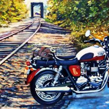How To Commission a Painting of Your Classic Car (or Motorcycle)