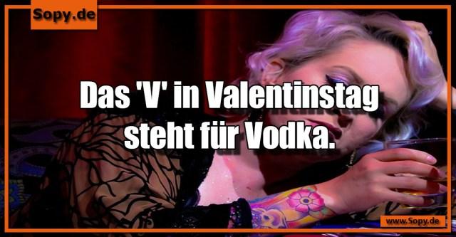V in Valentinstag