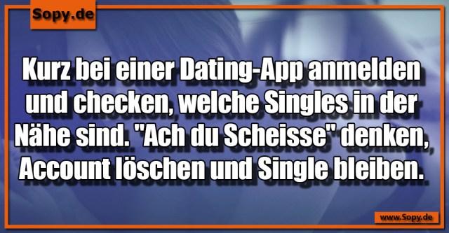 Dating-App anmelden