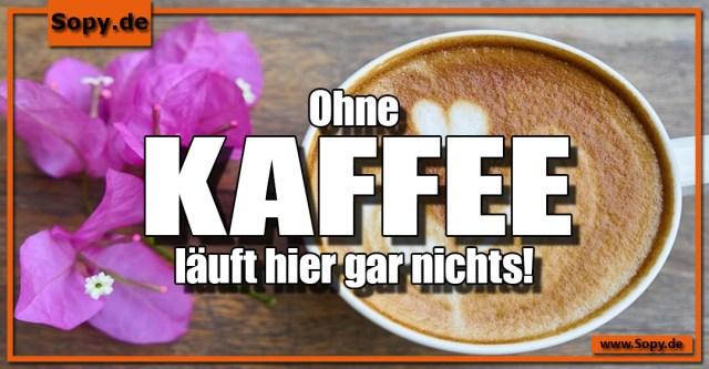 Ohne Kaffee