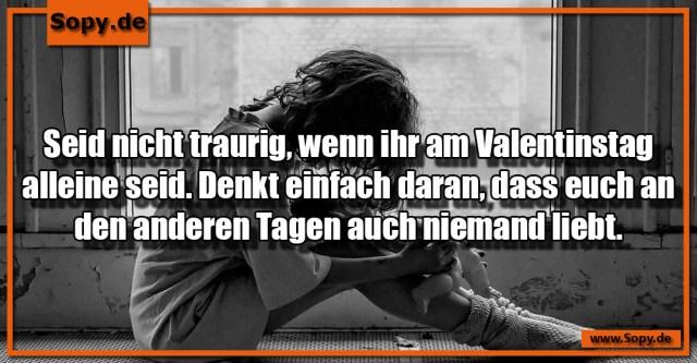 Valentinstag alleine