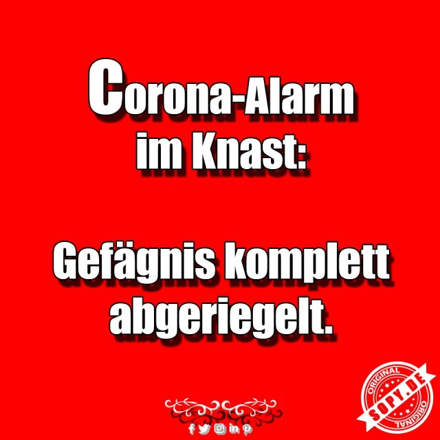 Corona Alarm