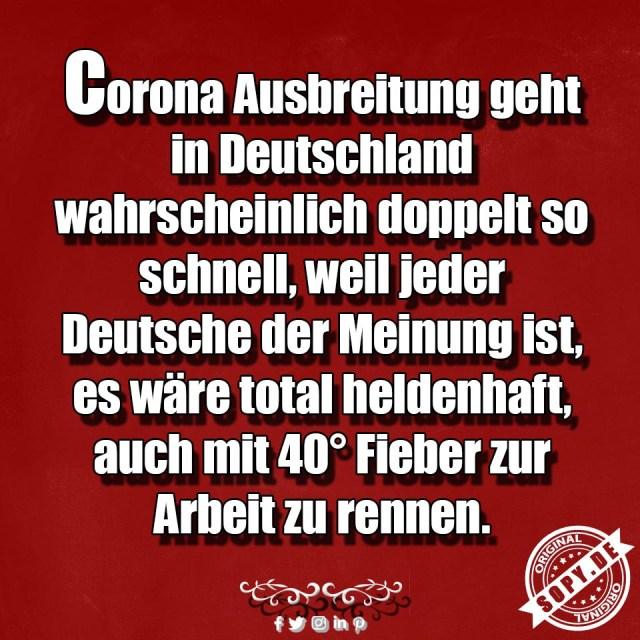 Corona Ausbreitung