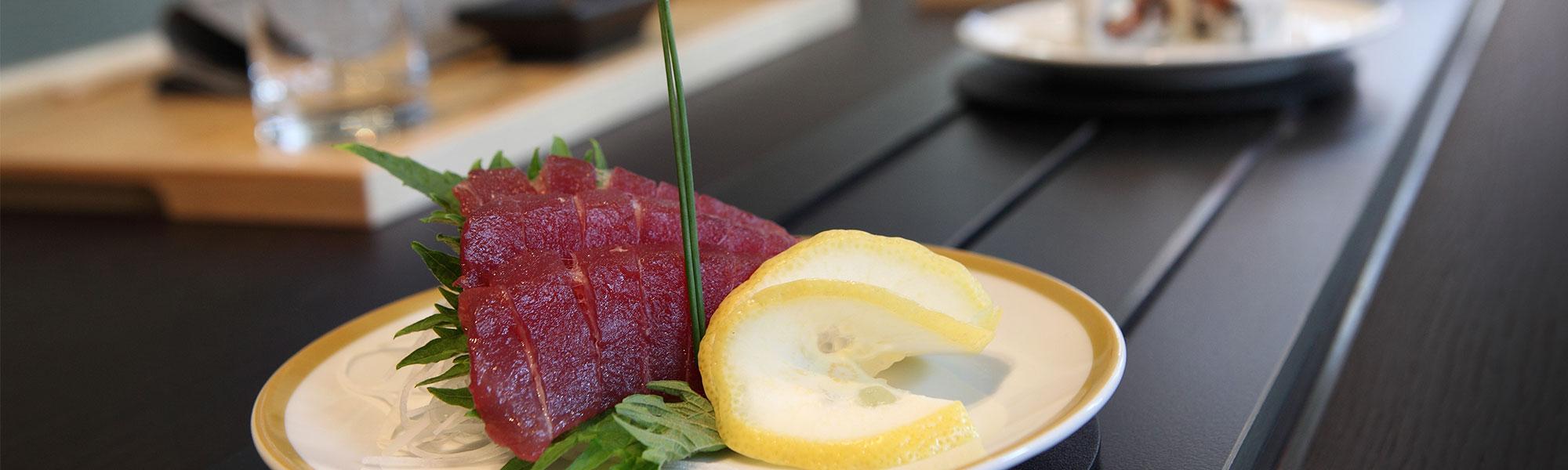 Sushi, Maki und Sashimi im Sora Sushi immer frisch Zürich Hauptbahnhof