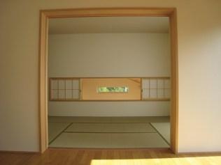 2階の洋間・和室