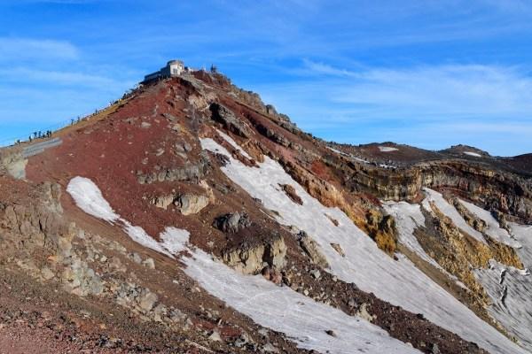"""""""Ohashimeguri"""" and """"Kengamine"""" on Mt.Fuji"""