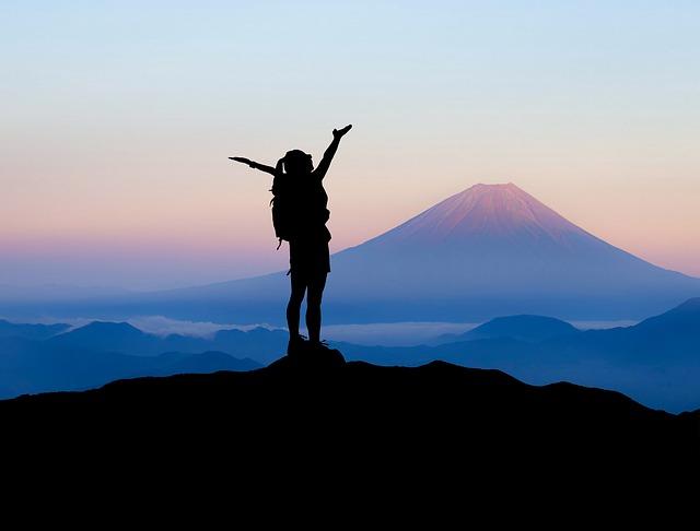 The best climbing season in Mt.Fuji.