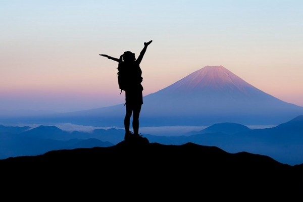 The best climbing season in Mt.Fuji.