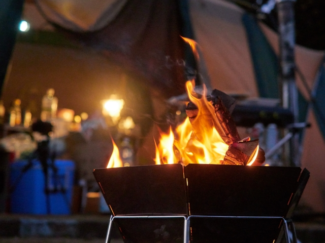 Is it really wrong to have a bonfire camping grounds?