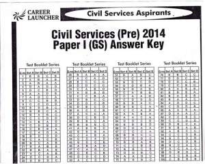 UPSC answer key