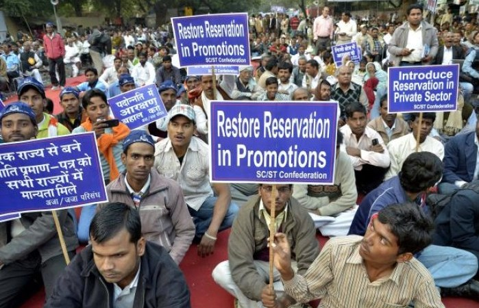 Now Government of India is Favoring Reservation in Promotion for SC/ST Employees