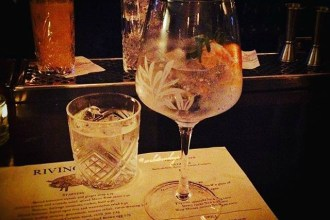 Gin Mare from Rivington Shoreditch. Rivington Shoreditch Bar and Grill Review