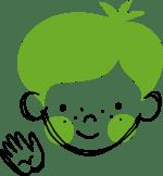 Illustration av en pojke