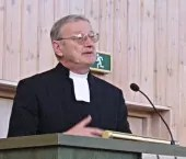 Björn Svärd predikar