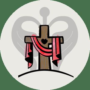 Illustration av Jesu kors