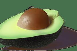 Avocado for a winter salad