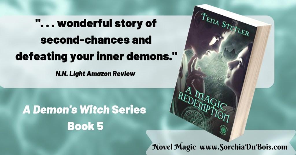 A Magic redemption Tena Stetler  Novel Magic www.sorchiadubois.com