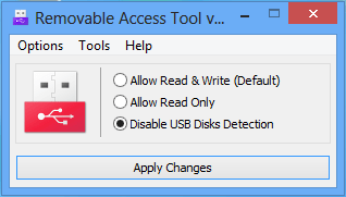 Ratool disable Usb