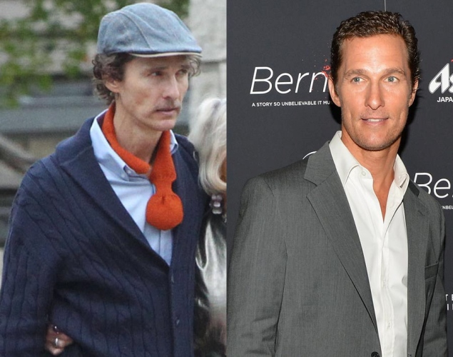 Matthew McConaughey is looking sick..Very Sick ...Like he might have AIDS