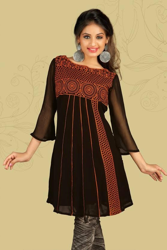The traditional Indian kurti gets universal appeal