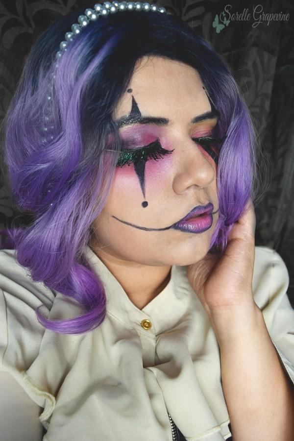 Halloween Harlequin