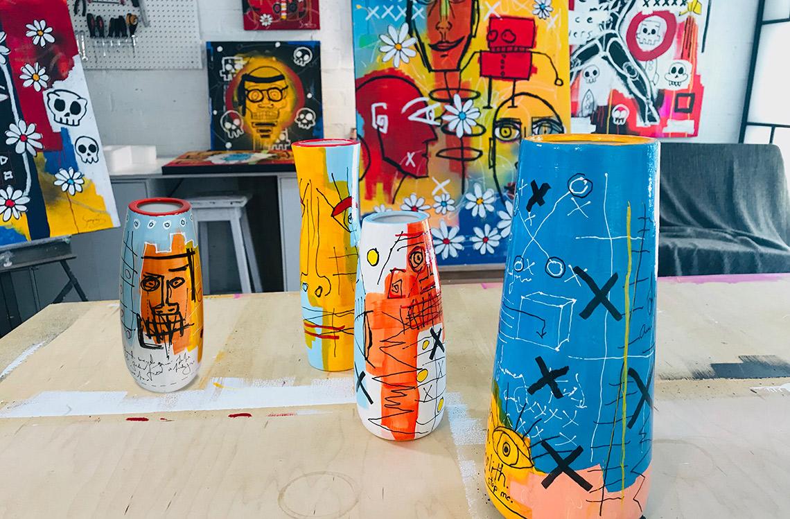 group-vases