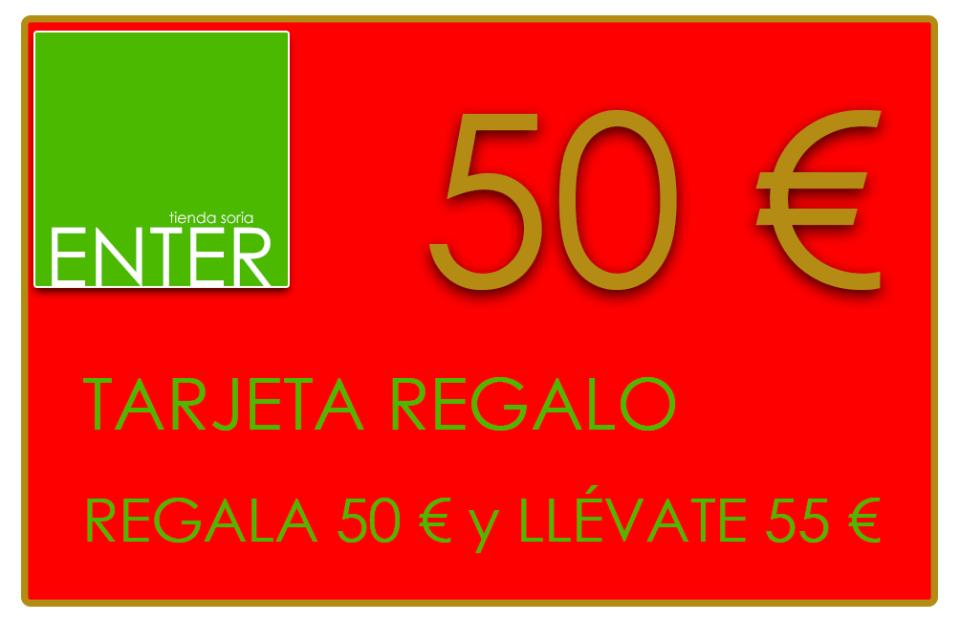 tarjeta REGALO ENTER