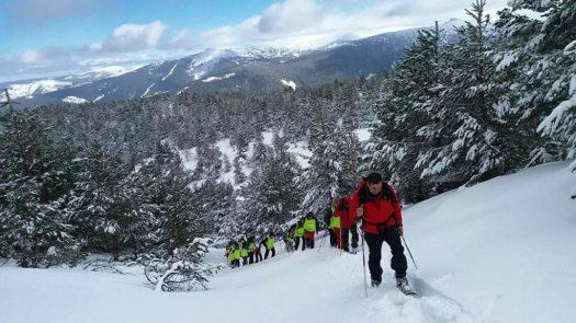 """Vistas que nos encontraremos a lo largo del camino. Punto de Nieve en Soria """"Santa Inés"""""""