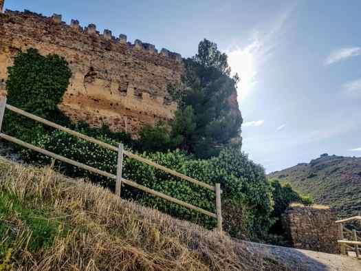 Camino de acceso al castillo