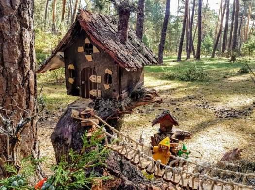 Casas de gnomos y duendes