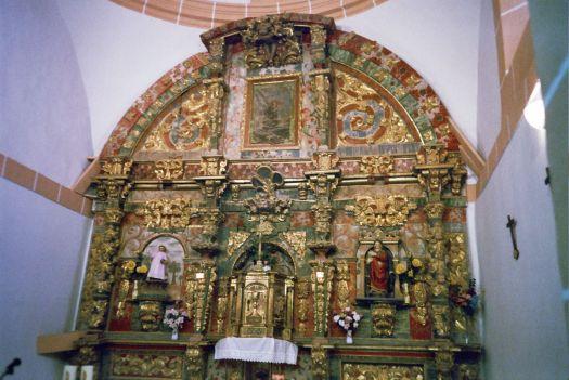 Altar Mayor en Zayuelas
