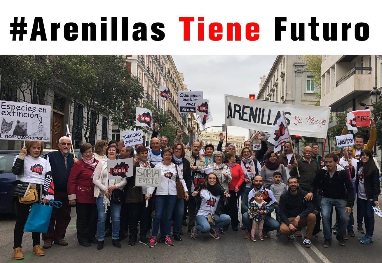 Arenillas, en la Revuelta de la España Vaciada