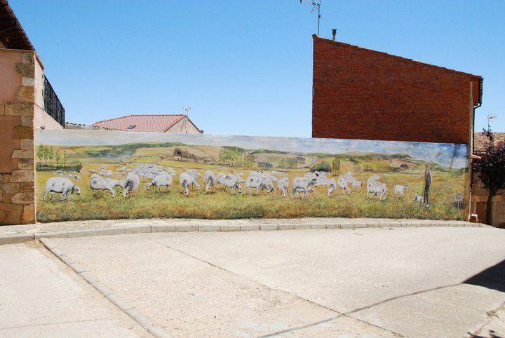 Mural de Martín López Leal 2013