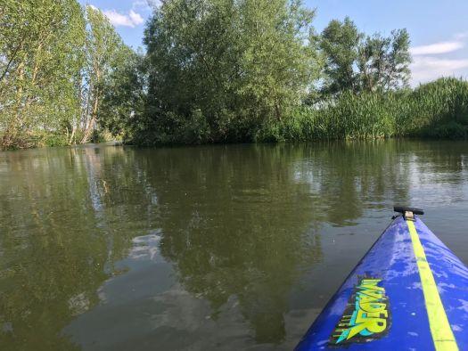 Río Duero a su paso por Ituero